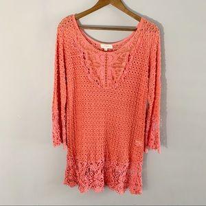 Umgee Crochet XL Tunic